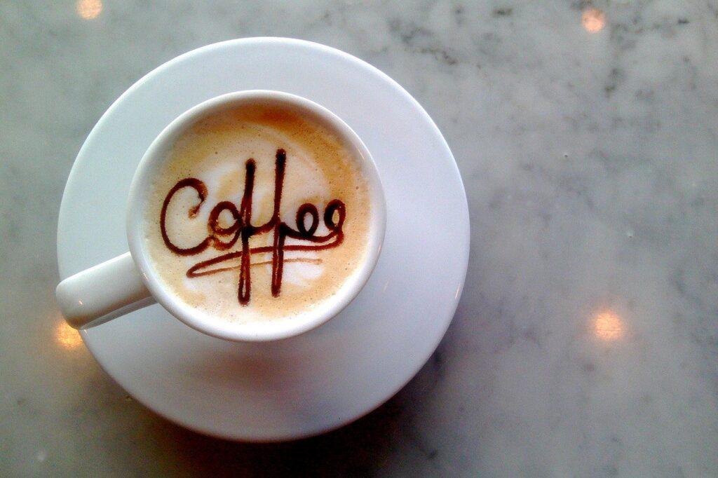 chai latte, filter coffee