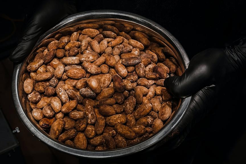 baratza encore, coffee grounds