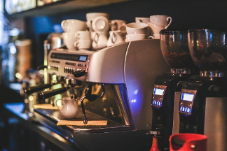 espresso, coffee machine