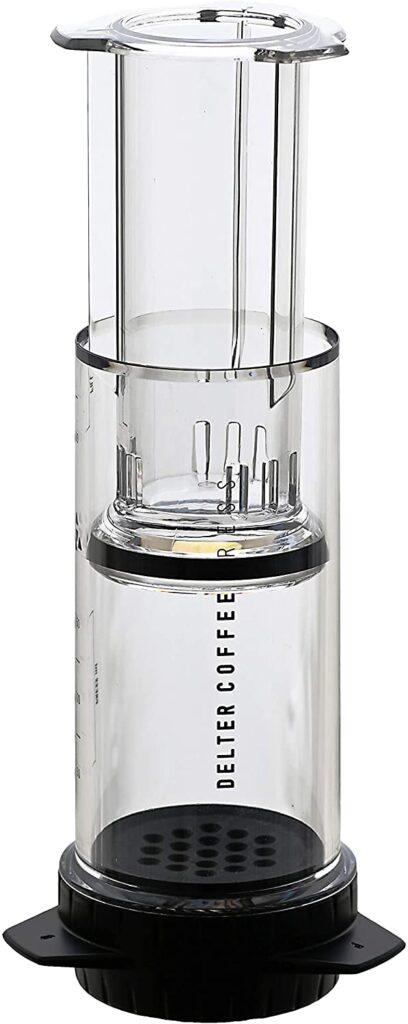 portable transparent Coffee Press